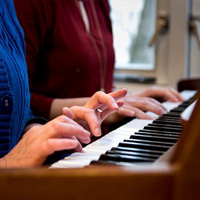 piano Leven met K 400